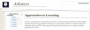 ATL skills website